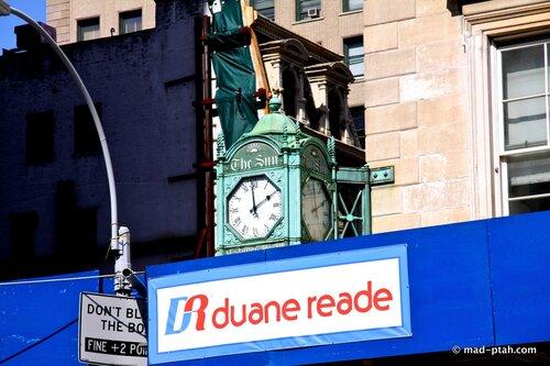 часы, нью-йорк