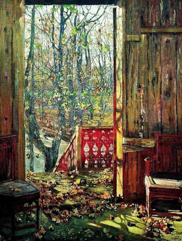 Опавшие листья-1915.(Исаак Бродский).