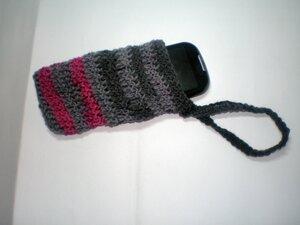 Чехол для телефона вязанный крючком