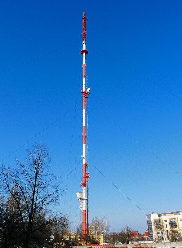 Белгородская телевышка, начало 2012, фото Sanchess