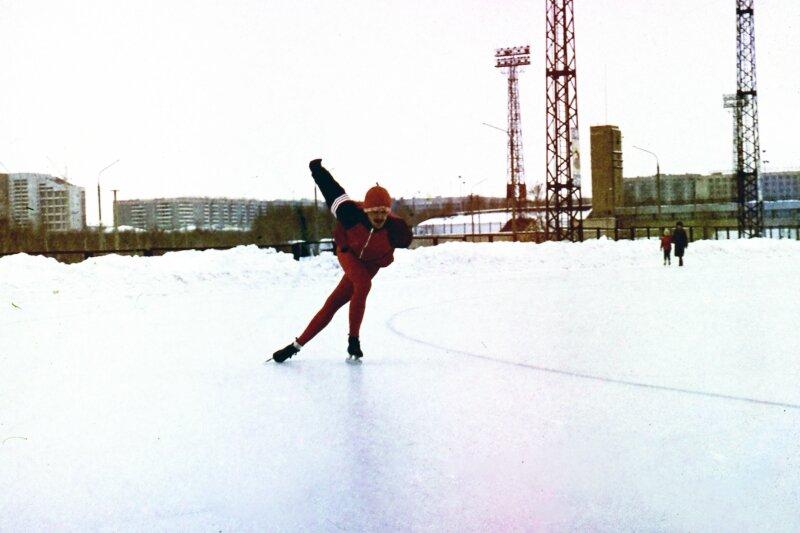 1988г.  Стадион Центральный . Жемчужников Ю.