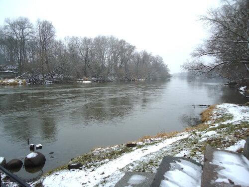 Брестская крепость. Река Западный Буг