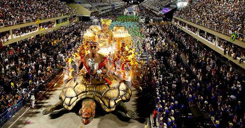 Карнавал в Рио 2012