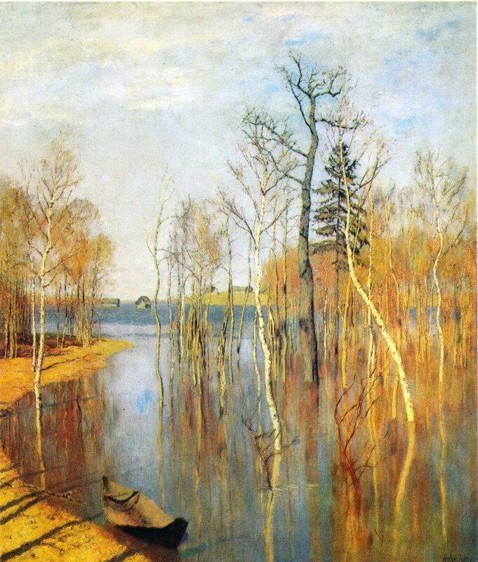 Левитан. Весна - большая вода