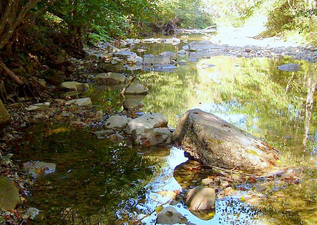 На реке ... 2008 год, под Горячи  <!--