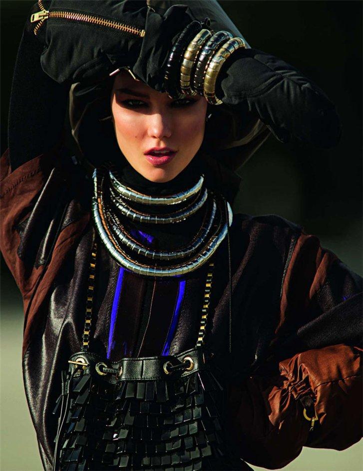 Karlie Kloss / Карли Клосс, фотограф Hans Feurer в журнале Vogue Paris, март 2012