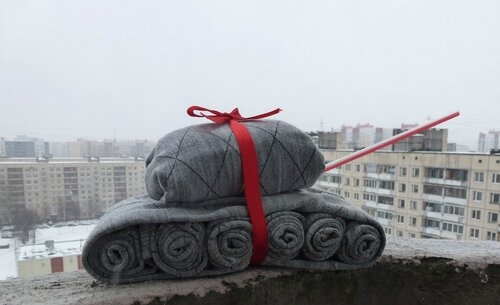 танк из носков