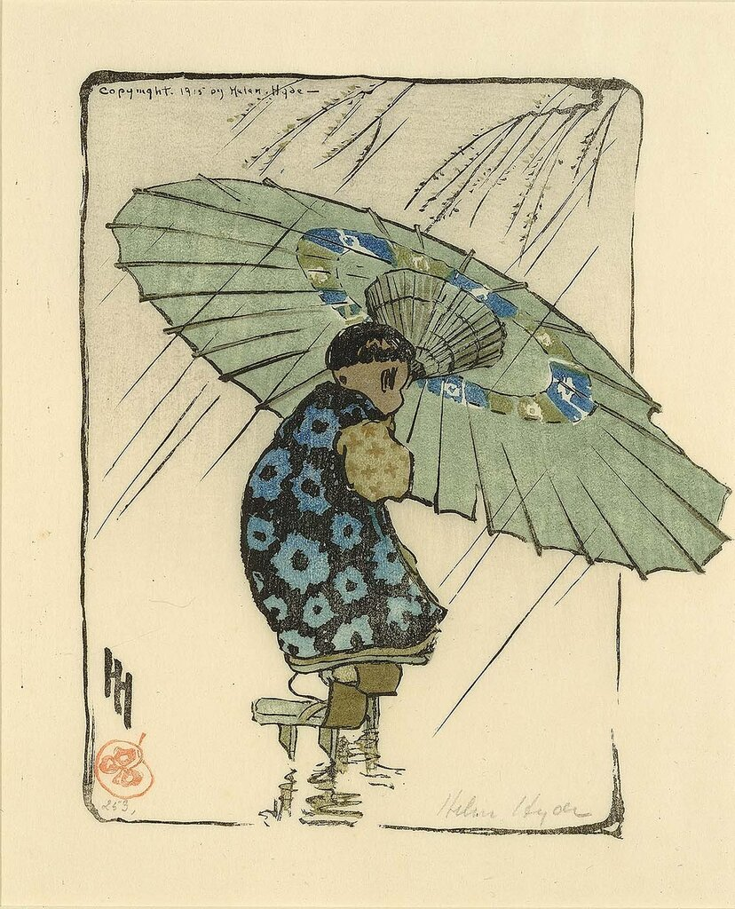 The Family Umbrella 1915 Helen Hyde