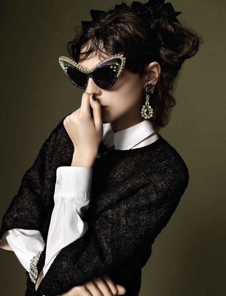 Karlina Caune by Paul Wetherell (The Shattered Silence - 10 Magazine Spring 2012)