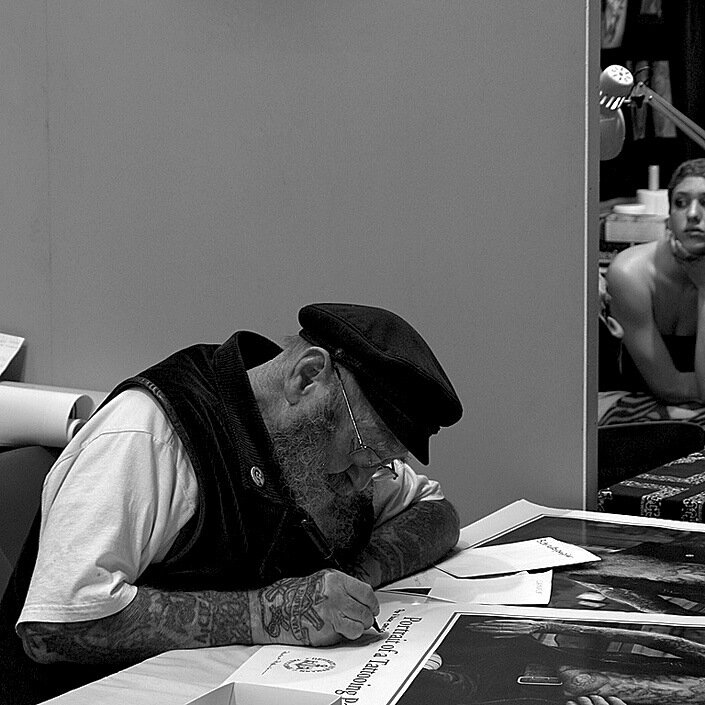 Herbert Hoffmann (1919-2010) tattoo