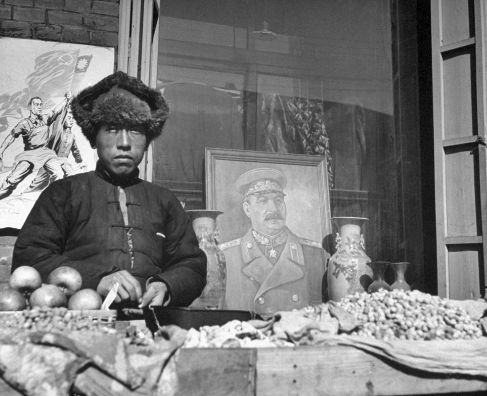 Stalin China, in 1946 by George Lacks