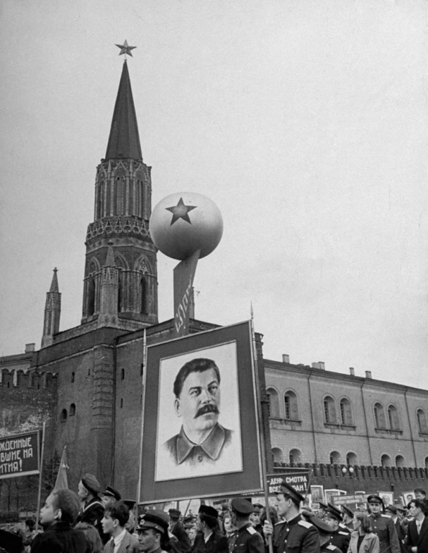 Red Square, Moscow, 1947 by Thomas McAvoy