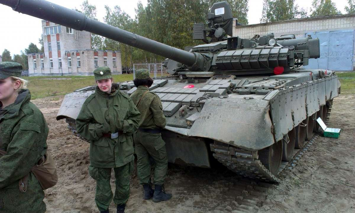 От тайги до британских морей ... : Лица девушек из Российской армии (28)