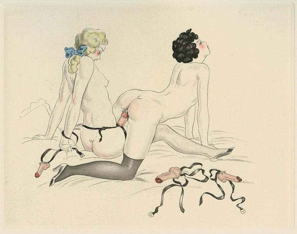 арт эротические рисунки