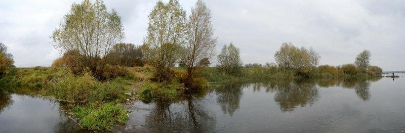 Панорама места высадки