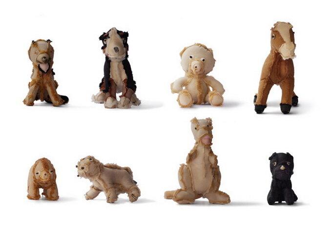Плюшевые игрушки наизнанку
