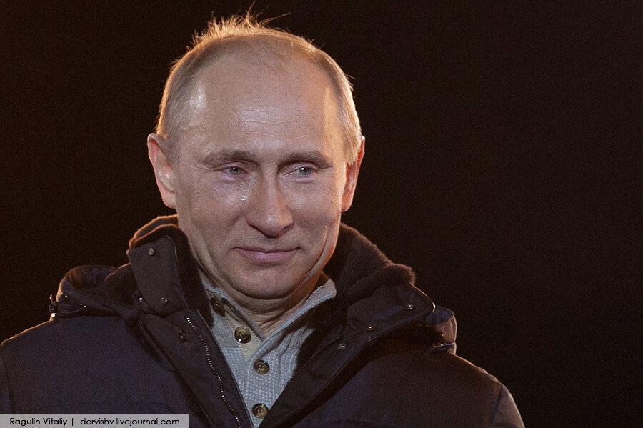 Путин Плачет
