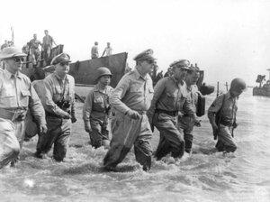 WWII MACARTHUR RETRURN LEYTE