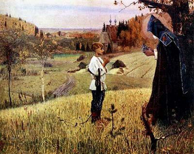 Варфоломей и монах