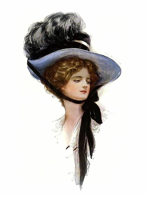 8. Харрисон Фишер (Harrison Fisher)  1875 - 1934