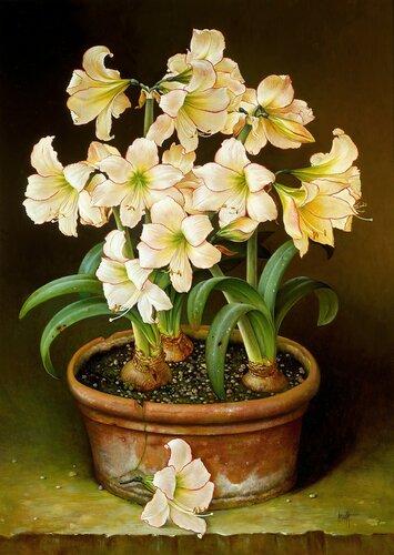 【引用】超仿真油画花卉(1) - 秋林红叶 - 秋林红叶