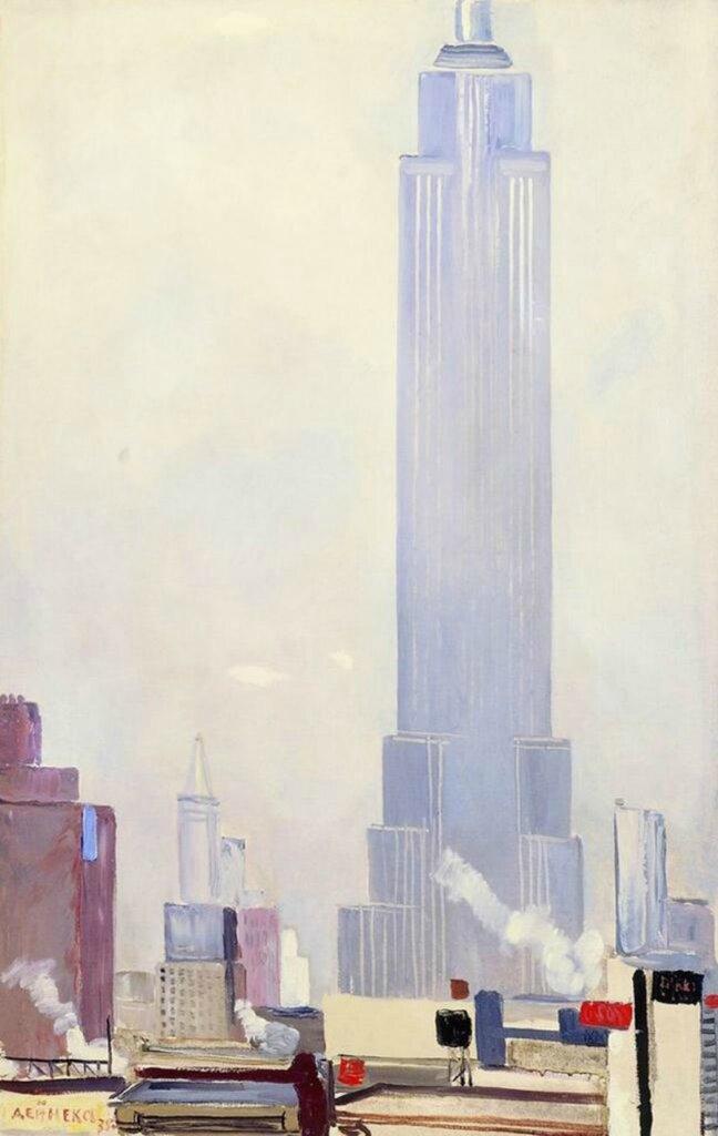 Нью-Йорк. 1935 г.Дейнека Александр