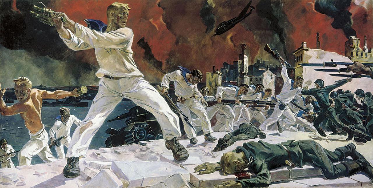 Оборона Севастополя, 1942, Дейнека Александр Александрович (1899-1869)