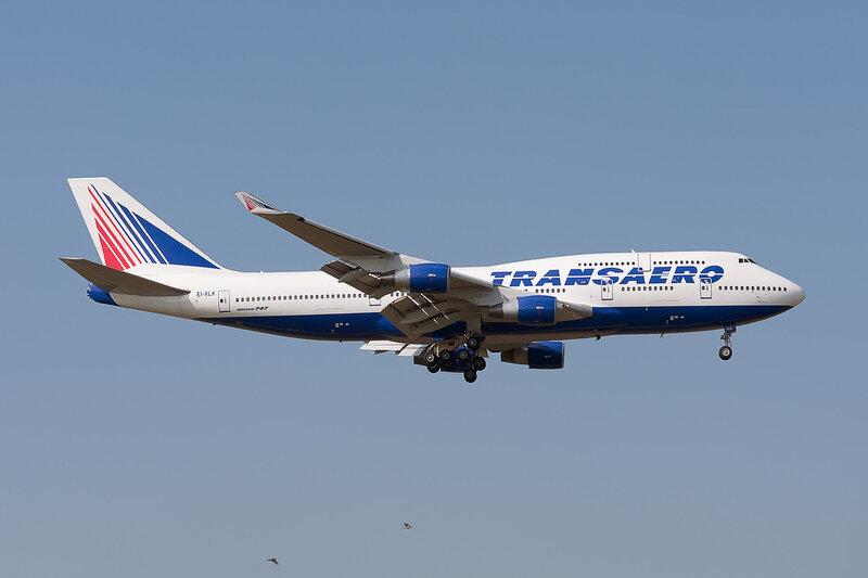 Boeing 747-412 (EI-XLK) Трансаэро DSC2833