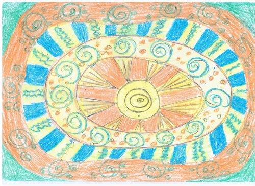 Выставка творческого настроения... присоединяйтесь! Автор рисунка: Исхакова Лилия