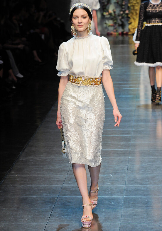 Dolce & Gabbana, Осень-зима 12-13, Ready-To-Wear, фотография 394773.