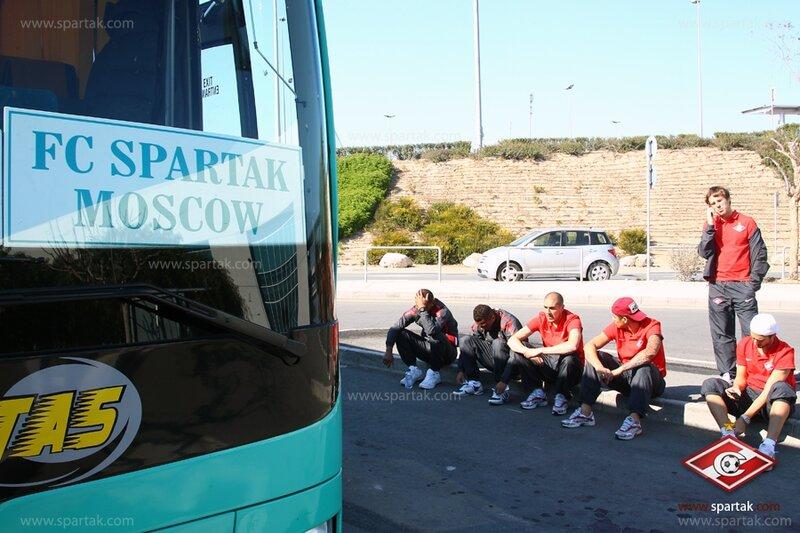 Первая тренировка «Спартака»  на Кипре (Фото)