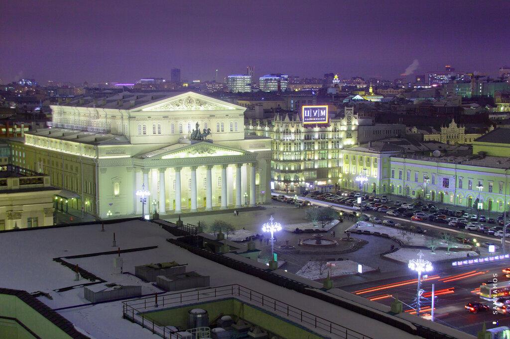 Театральная площадь и большой театр