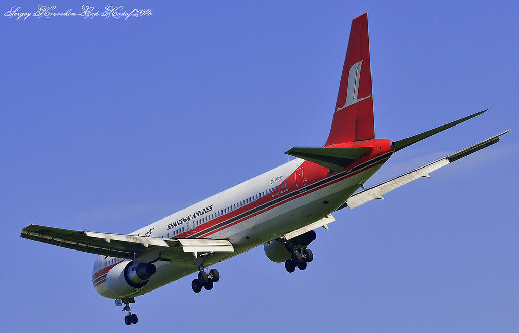 Boeing 767-36D Shanghai Airlines