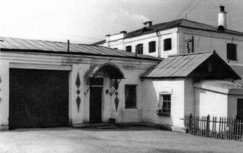 Главный вход в тюрьму № 7. Фото 40-х годов
