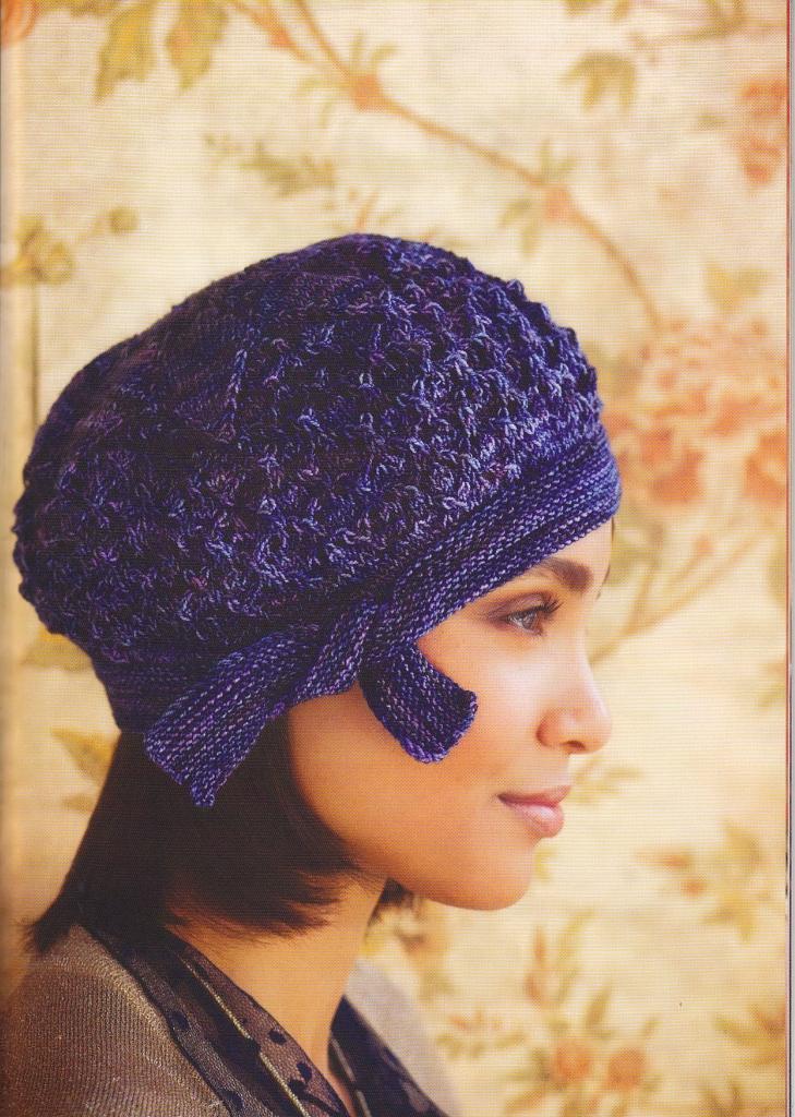 Вязание спицами головные женские уборы 88