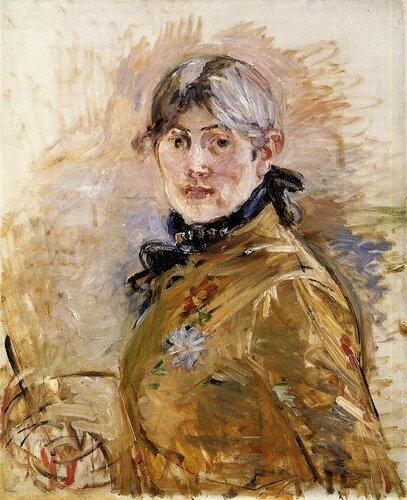 Берта Моризо. Автопортрет. 1885.jpg