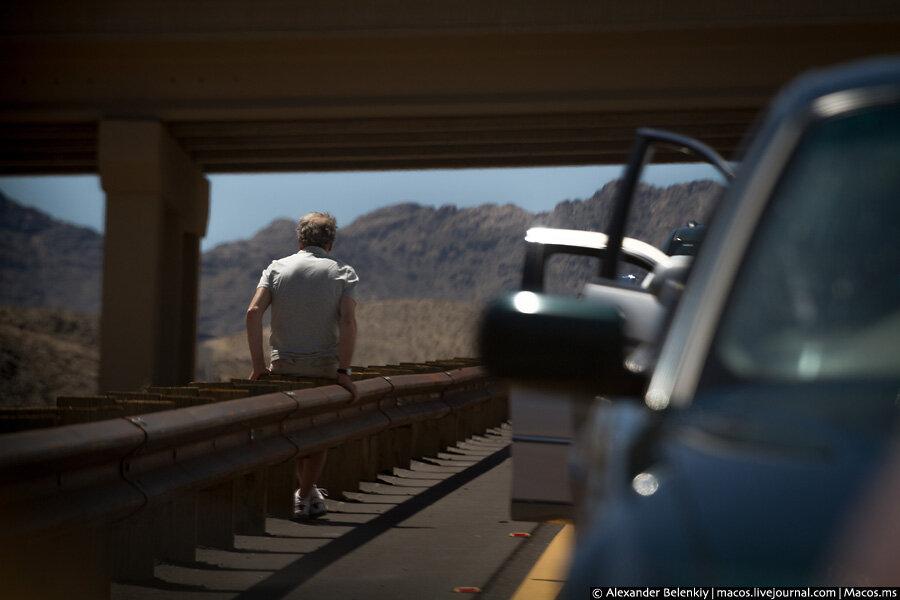Путешествие в Америку. День 18. Трасса 66 и первая американская пробка