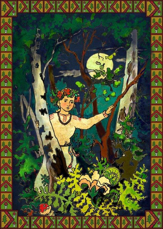Куряева Юлия Цветущий папоротник