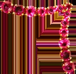 розовые уголки
