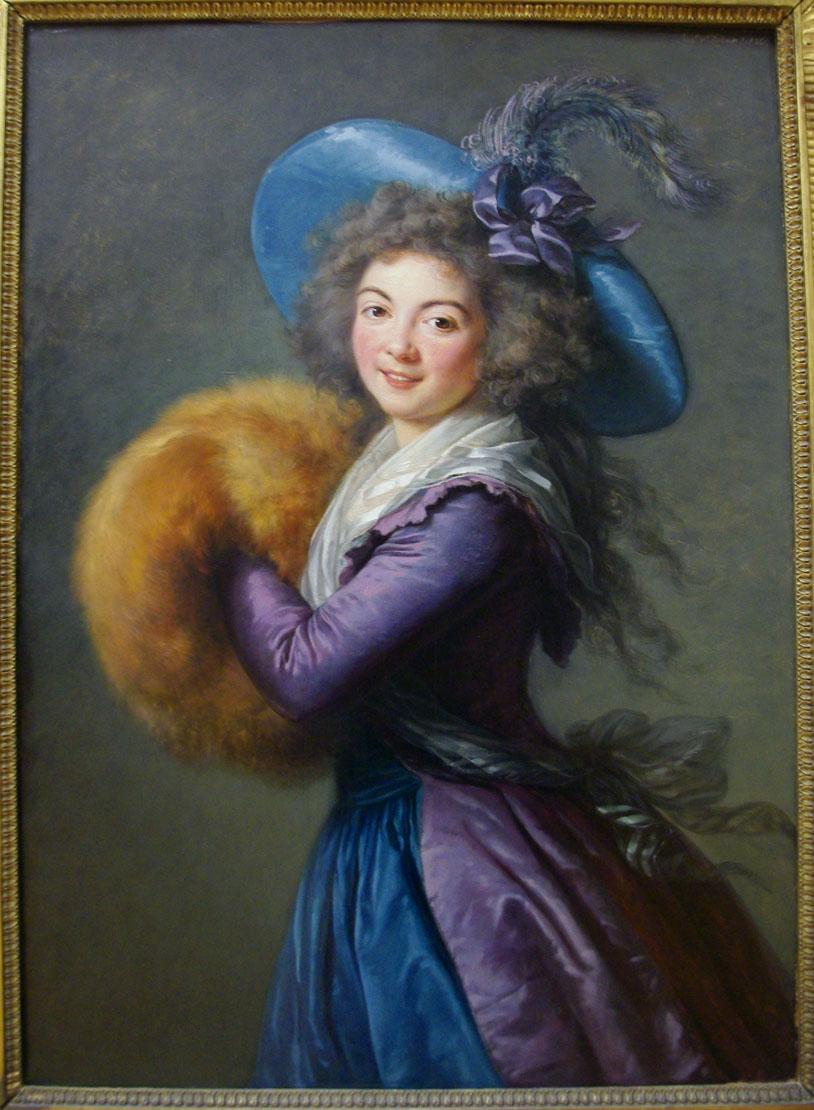 Элизабет-Луиза Виже-Лебрён. Портрет мадам Моле-Реймон.