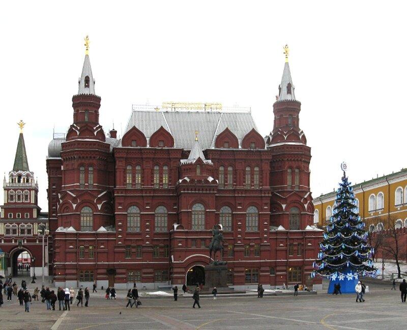 Новогодняя Москва, Манежная площадь