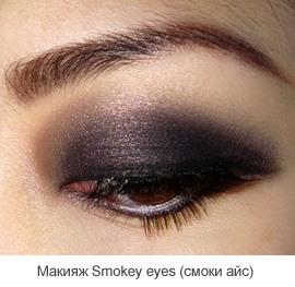 Как сделать макияж «Смоки айс»