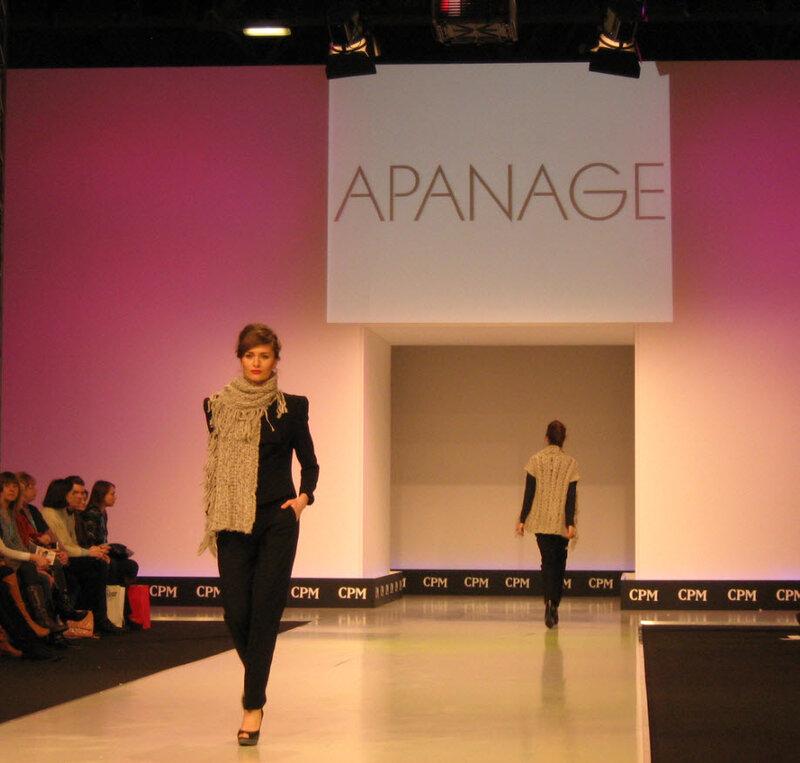 Apanage femme на CPM 2012