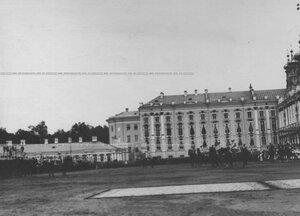 Парад полка по случаю  200-летнего юбилея.