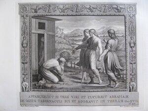 Авраам и ангелы (Бытие, ХVIII, 1-19)