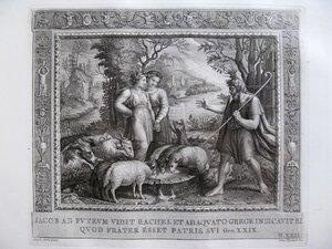 Встреча Иакова с Рахилью (Бытие XXIX, 10-12)