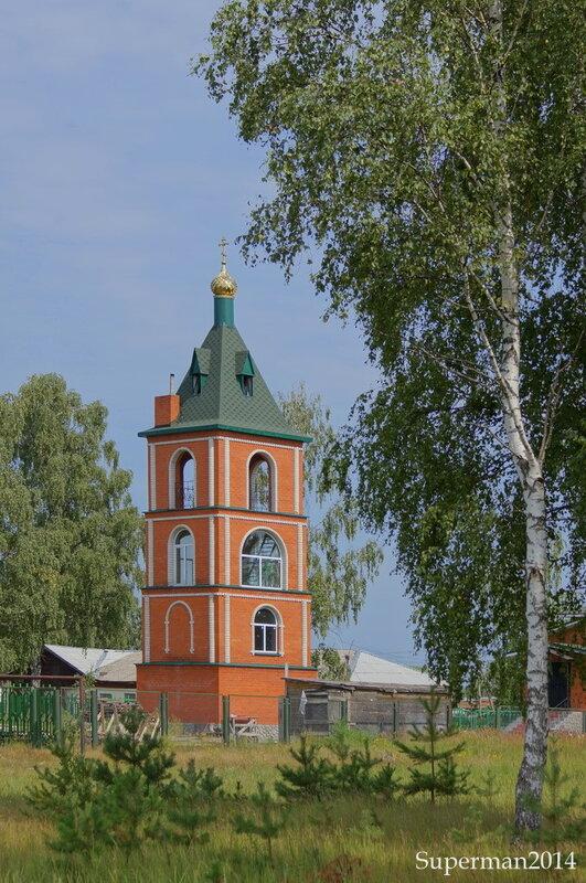 Храм преп. Серафима Саровского в д.Юркино