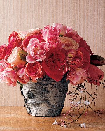 Декорирование цветочных горшков
