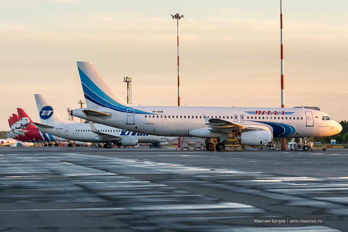 Official planespotting at Tyumen Airport Roshchino. Photo by Max Bugaev