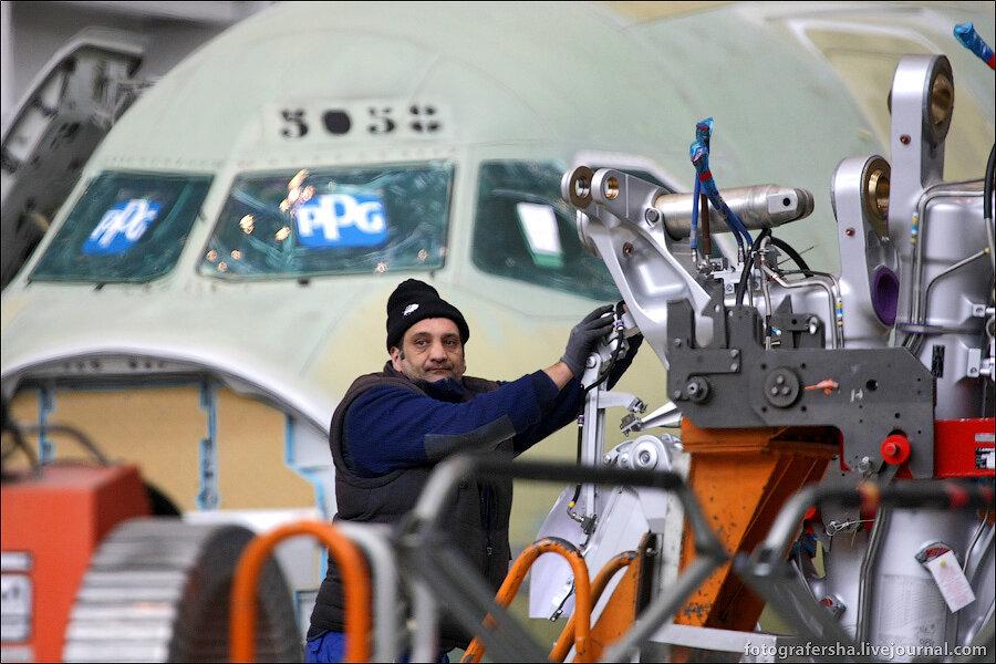Как строят Airbus A320